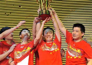 乒超-许昕胜马琳霸州仍落败浙商银行首夺男团冠军
