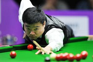 国锦赛首轮丁俊晖5-2领先连丢3局6-5绝杀进32强