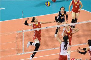 中国女排二线阵容0-3日本大奖赛总决赛连折两阵