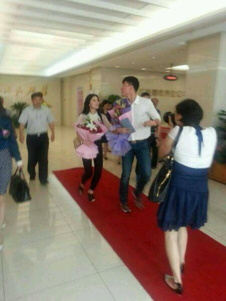 疑似刘翔结婚。图片来自网络