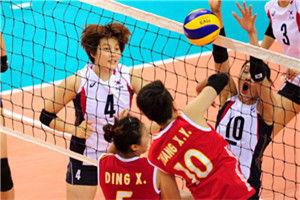 亚洲杯女排2队3-0再胜韩国1队时隔4年第3度夺冠