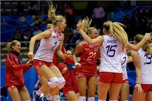 世锦赛日本女排爆冷负克罗地亚多米尼加3-2比利时