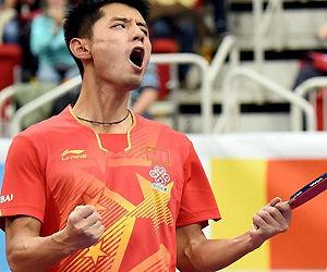张继科超越邓亚萍惊人纪录大赛夺金概率比肩林丹