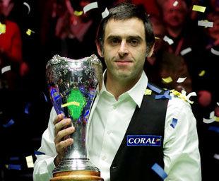 英锦赛奥沙利文10-9绝杀特鲁姆普获生涯第27冠