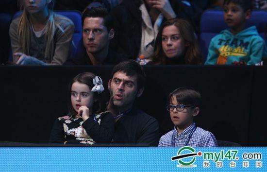 奥沙利文与孩子们