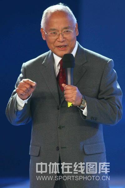 何振梁在2007年体坛风云人物会场