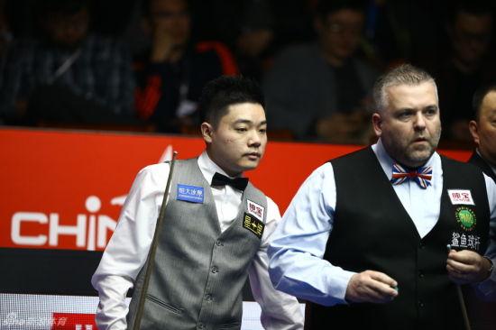 中国公开赛丁俊晖5-1晋级32强