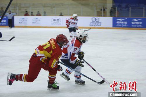 中国队5-2击败朝鲜