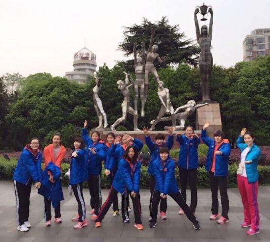 U23女排国家队集训队员 (图片来源:@程珑是个开朗滴小姑凉)