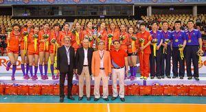 U23女排亚锦赛中国3-1力克泰国夺冠韩国获季军