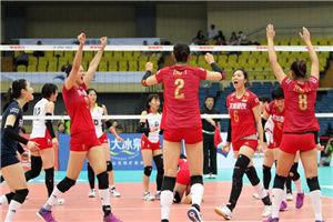 女排亚锦赛中国3-0零封日本青年军夺复赛开门红