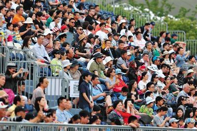 中巡赛上海站吸引了众多观众前来观赛。