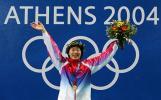 图文-雅典奥运(28届)中国金牌榜 罗雪娟加冕蛙后