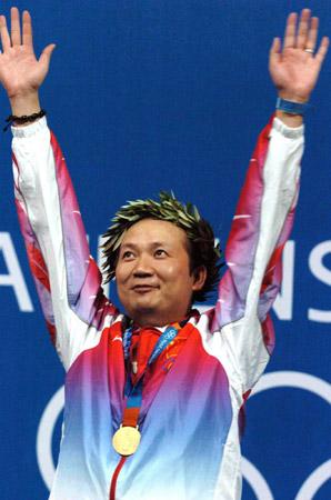 图文-雅典奥运(28届)中国金牌榜 贾占波戏剧性夺冠