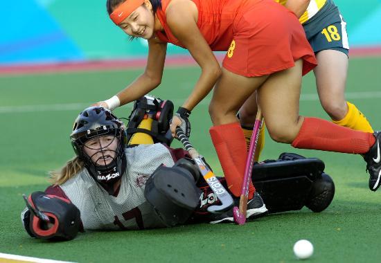 图文-曲棍球邀请赛澳大利亚女队夺冠 友好是主题