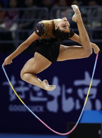 图文-好运北京艺术体操国际邀请赛奥兰多闯入八强
