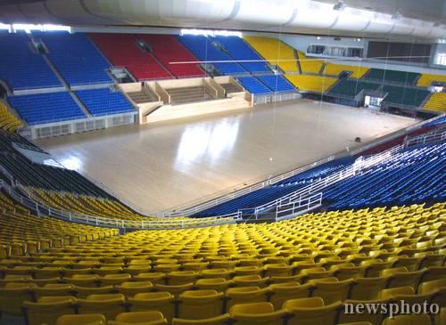 图文-首都体育馆改扩建工程竣工 细看内部座位分布