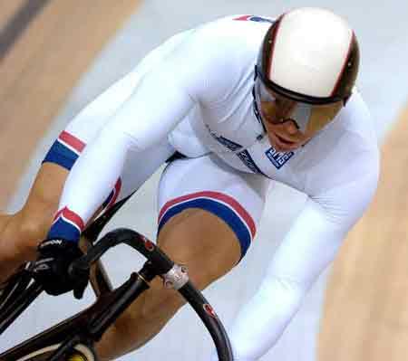 图文-自行车世界杯8日赛况霍伊速度无人能比