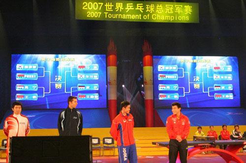 图文-国球大典乒乓球嘉年华启动王皓自觉签运不错