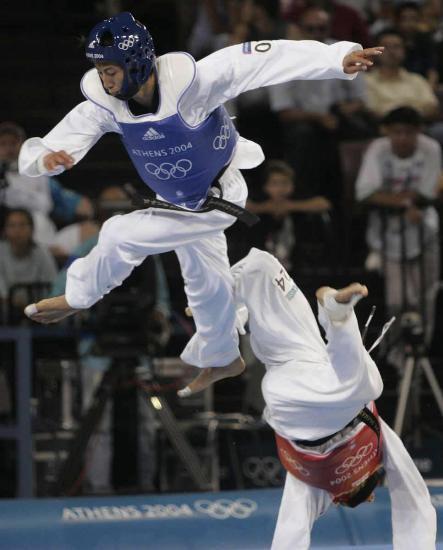 图文-中国历届夏季奥运会金牌得主 中国台北朱木炎