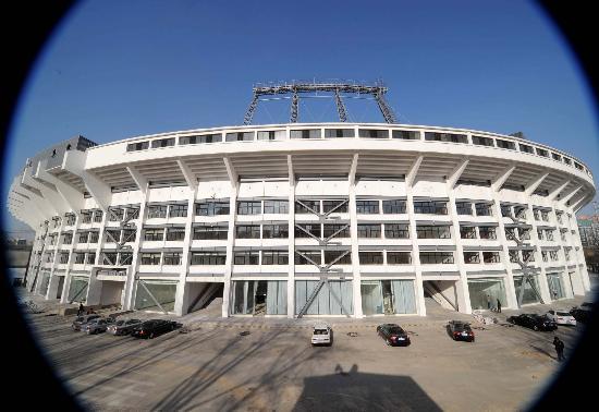 图文-北京工人体育场改建工程完工 体育场焕然一新