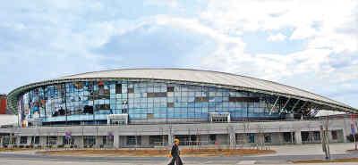 图文-北京建筑的新地标--奥运之光北工大体育馆