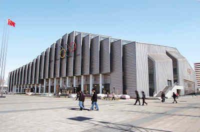图文-北京建筑的新地标--奥运之光农大体育馆