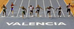 图文-田径室内世锦赛男子60米决赛冲线瞬间定格