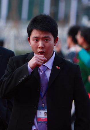 图文-众星闪耀斯诺克中国公开赛张安达青出于蓝