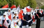 图文-圣火传递活动在马斯喀特举行 热烈迎接火炬