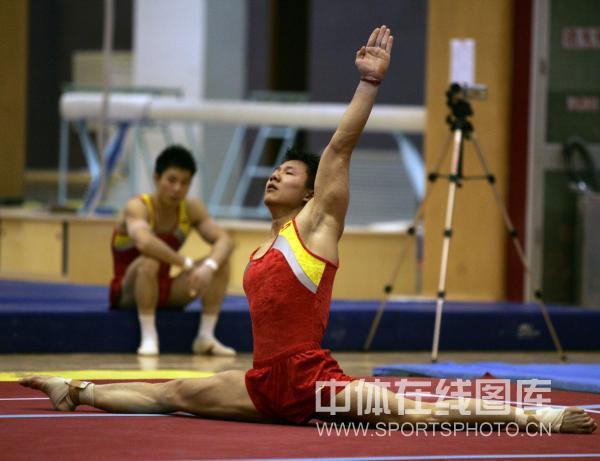 教程2008年4月24日下午,中国男子体操队在国家体育总局训练局组装悠悠球怎样进行正文视频图片
