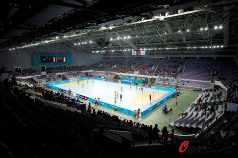 图文-北京奥运场馆巡礼 奥体中心体育馆远景