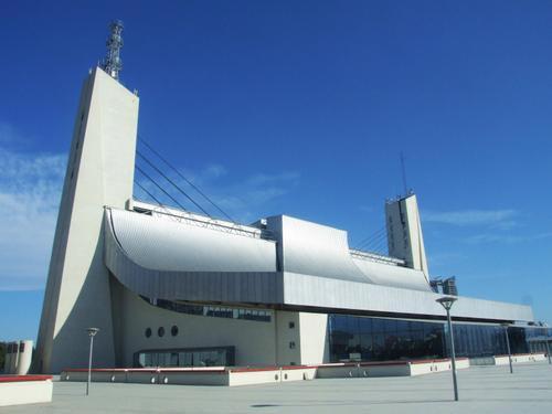 图文-北京奥运场馆巡礼 奥体中心体育馆奇特外观