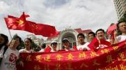 图文-奥运圣火传递在胡志明市举行 华人喜气洋洋