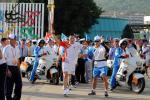 图文-北京奥运圣火在厦门传递侯斌前途一片光明