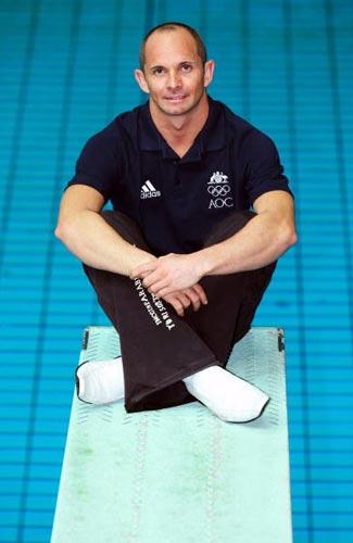 图文-澳大利亚奥运跳水队成立 澳洲老将赫尔姆