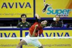 图文-新加坡羽球赛半决赛印尼选手不容忽视