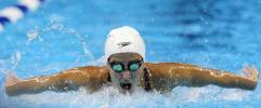 图文-美国奥运游泳选拔赛第4日范登堡成功晋级