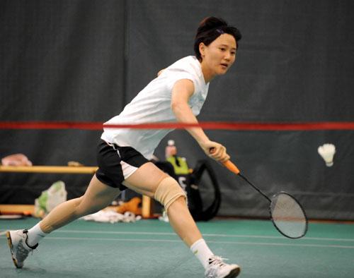 图文-中国香港羽毛球队备战奥运 王晨能否一圆梦想