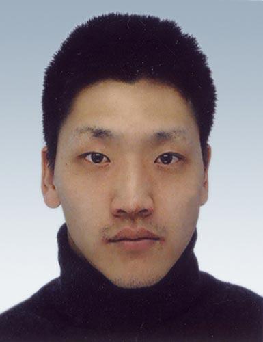 图文-北京奥运会中国代表团成立马术队队员赵志文
