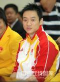 图文-北京奥运会中国代表团成立 体操主力杨威