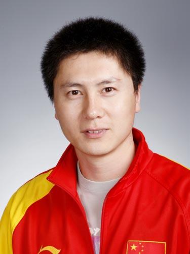 图文-北京奥运会中国代表团成立 射击队队员王楠