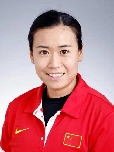 图文-北京奥运会中国代表团成立沙排队选手田佳