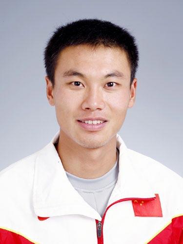 图文-北京奥运会中国代表团成立 田径队队员司天峰
