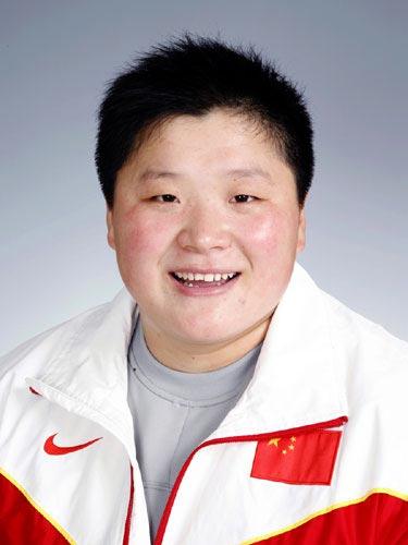 图文-北京奥运会中国代表团成立田径队队员巩立姣