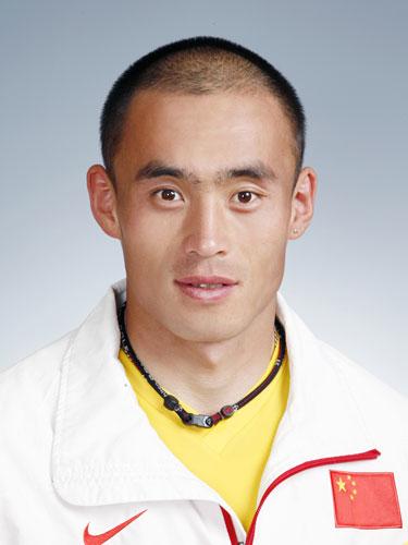 图文-北京奥运会中国代表团成立皮划艇队员林淼