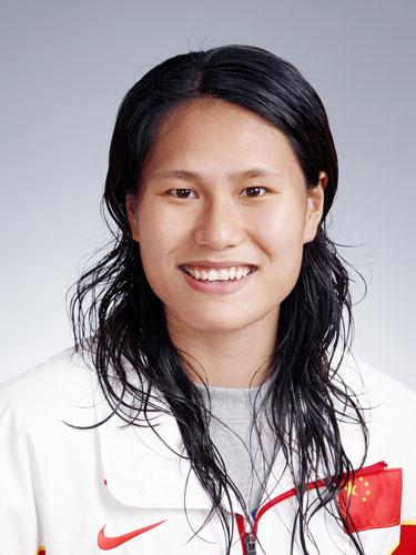 图文-北京奥运会中国代表团成立皮划艇队员徐琳蓓