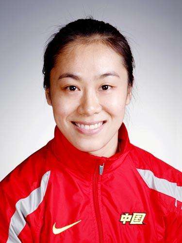 图文-北京奥运会中国代表团成立手球队队员吴亚楠