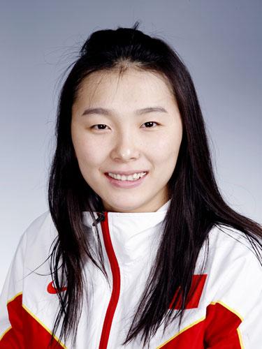 图文-北京奥运会中国代表团成立 游泳队队员杨雨