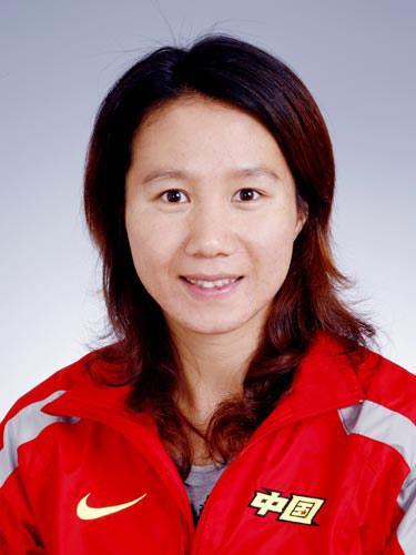 图文-北京奥运会中国代表团成立 女曲队员陈秋琦
